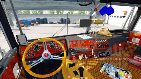 Kenworth K100 v3.0 para American Truck Simulator