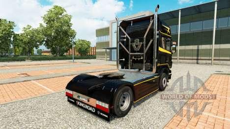 Piel de Oro Líneas en el tractor Scania para Euro Truck Simulator 2
