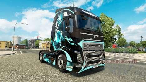 Piel de Dragón para camiones Volvo para Euro Truck Simulator 2