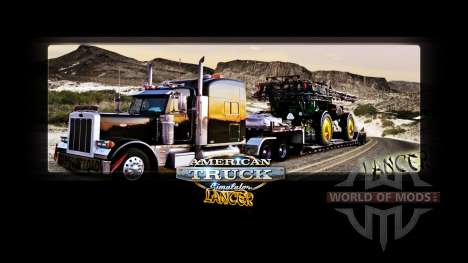 Pantallas de carga de Lancer para American Truck Simulator