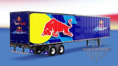 De metal semi-RedBull para American Truck Simulator