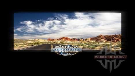 Pantallas de carga Nevada para American Truck Simulator