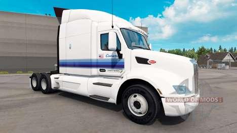 Piel Con-Forma para tractores y Peterbilt Kenwor para American Truck Simulator