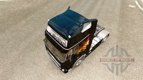 Croata la Bandera de la piel para camiones Volvo para Euro Truck Simulator 2