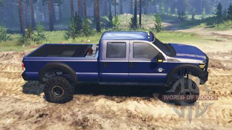 Ford F-450 2014 para Spin Tires
