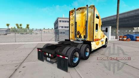 La piel de la Roya en el camión Kenworth para American Truck Simulator