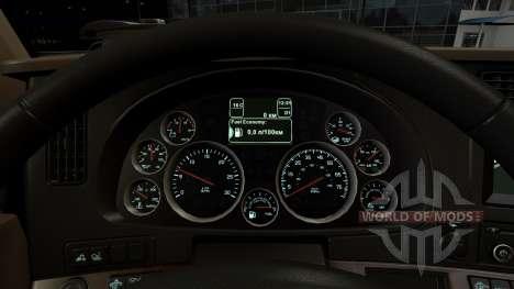 Instrumento de iluminación de color de agua de m para American Truck Simulator