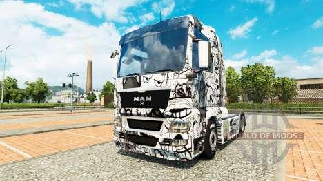 Los Memes de la piel para el HOMBRE camión para Euro Truck Simulator 2