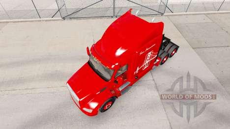 La piel de Oakland Bay Bridge para camión Peterb para American Truck Simulator