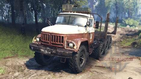 ZIL-131 8x8 v3.0 para Spin Tires