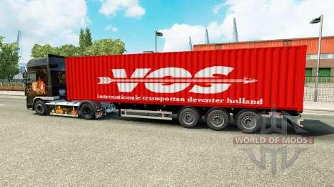 Semi-remolque para SU para Euro Truck Simulator 2