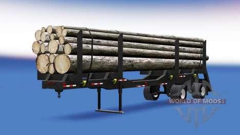 Un camión semi-remolque para American Truck Simulator