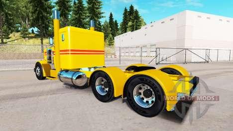 Amarillo Personalizado de la piel para el camión para American Truck Simulator