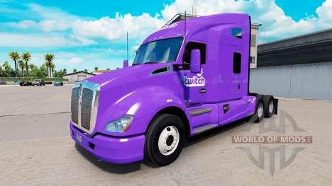 La piel de Contracción en un Kenworth tractor para American Truck Simulator
