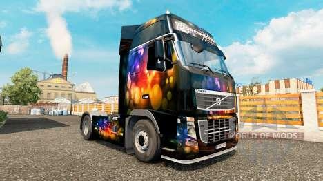 El Color de la piel de la Pared de Volvo trucks para Euro Truck Simulator 2