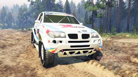BMW X3 Rally para Spin Tires