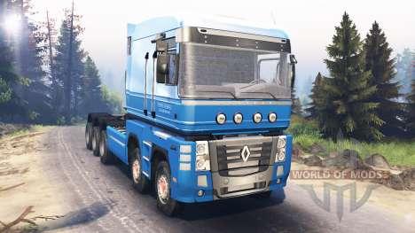Renault Magnum 10x10 v5.0 para Spin Tires