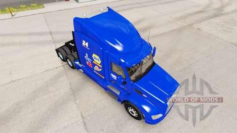 NAPA Hendrick de la piel para el camión Peterbil para American Truck Simulator