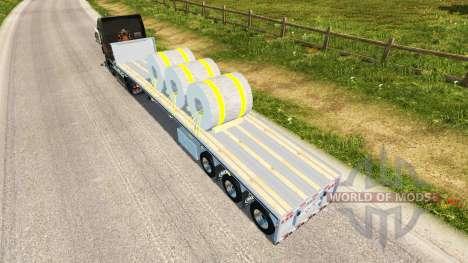 Semi bobinas de acero para Euro Truck Simulator 2