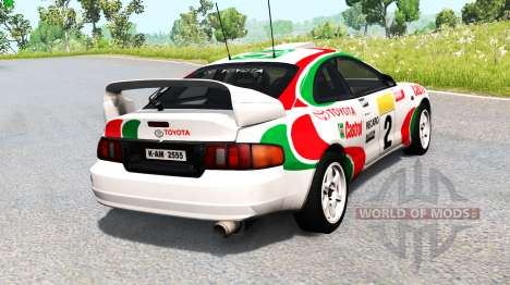 Toyota Celica GT-Four (ST205) 1995 WRC para BeamNG Drive