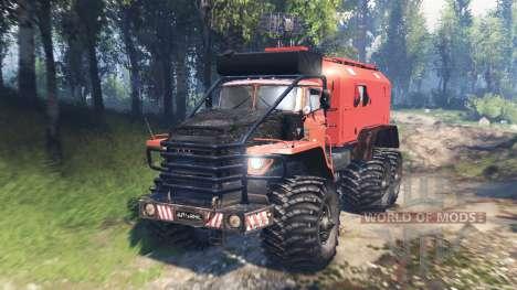 Ural-4320 Polar Explorer v2.0 para Spin Tires