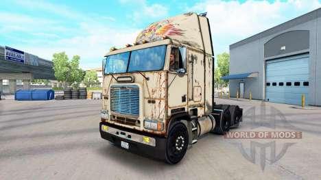 La piel Absoluta Badass en el camión Freightline para American Truck Simulator