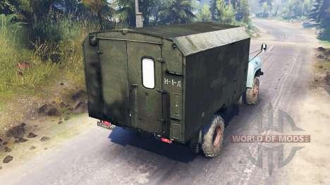 GAZ-52 4x4 v2.0 para Spin Tires