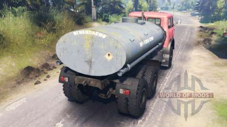 MAZ-516Б para Spin Tires