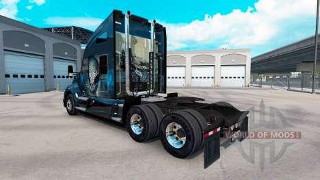 La piel XCOM2 en un Kenworth tractor para American Truck Simulator