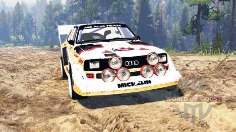 Audi Sport quattro S1 v2.0 para Spin Tires