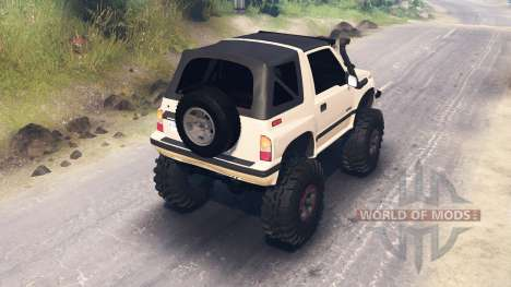 Suzuki Sidekick para Spin Tires