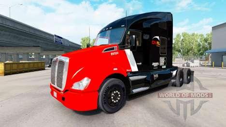 La piel CN el Transporte en los tractores y de l para American Truck Simulator