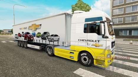 Pieles de la Compañía de Coches en camiones para Euro Truck Simulator 2