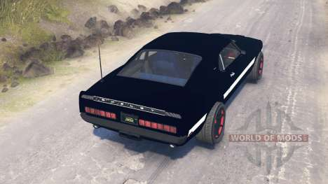 Ford Mustang Shelby GT500 1969 para Spin Tires