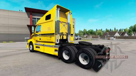 Robert de Transporte de la piel para camiones Vo para American Truck Simulator