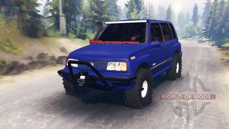 Suzuki Grand Vitara para Spin Tires