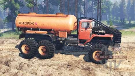Ural-4320 Explorador Polar para Spin Tires