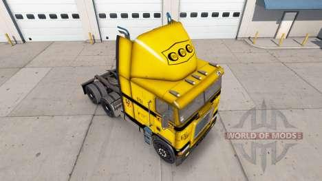 La piel en el CCC camión Freightliner FLB para American Truck Simulator