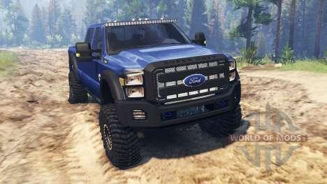 Ford F-450 2014 para Spin Tires