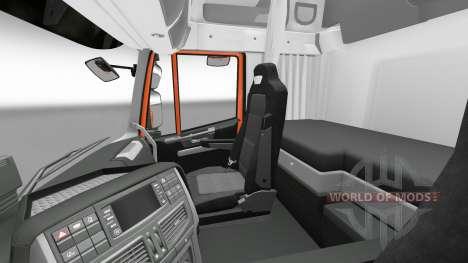 Interior de la nueva tractoras Iveco para Euro Truck Simulator 2