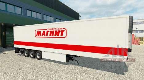 Remolque Imán para Euro Truck Simulator 2