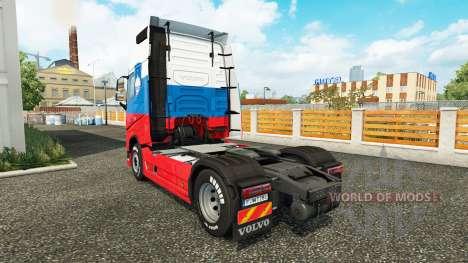 Eslovenia piel para camiones Volvo para Euro Truck Simulator 2