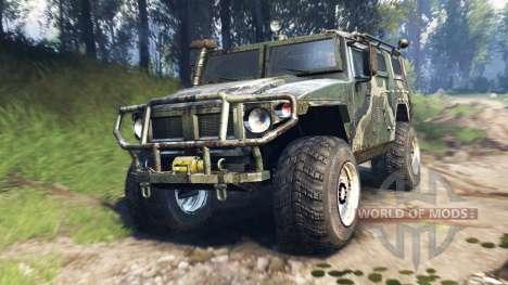 GAZ-2975 Tigre v3.0 para Spin Tires