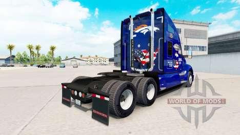 La piel de los Broncos en el tractor Kenworth para American Truck Simulator