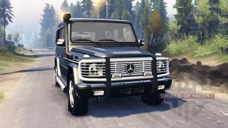 Mercedes-Benz G 500 v2.0 para Spin Tires