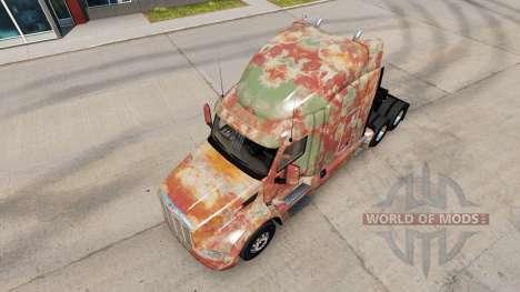 La piel Abstracto para camión Peterbilt para American Truck Simulator