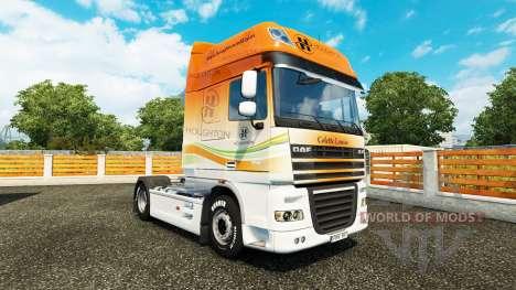Houghton de la piel para DAF camión para Euro Truck Simulator 2