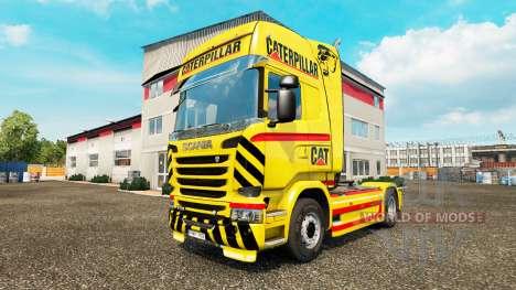 GATO de la piel para camión Scania para Euro Truck Simulator 2