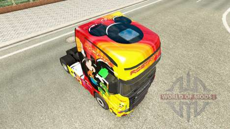 La piel Rostrans Disney Scania camión R700 para Euro Truck Simulator 2