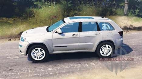 Jeep Grand Cherokee para Spin Tires